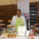 Our Founder at a local vendor event.